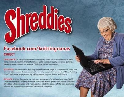 Shreddies - Knitting Nanas Facebook Campaign