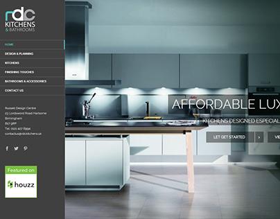 RDC Kitchens Logo & Website