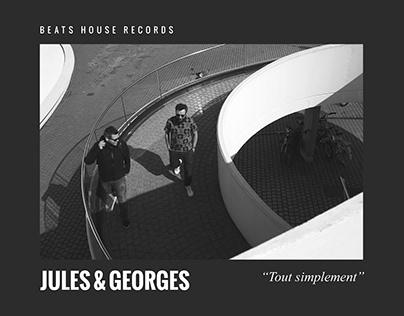 """Artwork """"Tout simplement"""" pour Jules & Georges"""