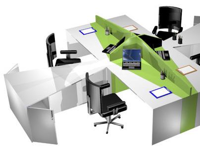 Office Furniture Design Studies