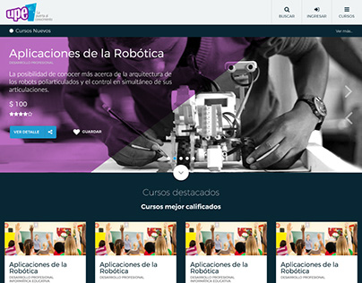 UPE - Plataforma de eLearning