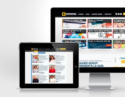 Kschool Website