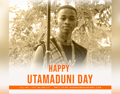 Utamaduni Day (Kenya) Poster