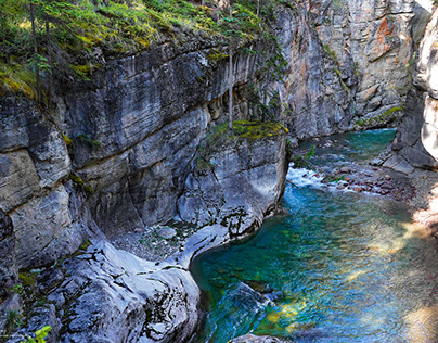 The Wonders of the Maligne Canyon