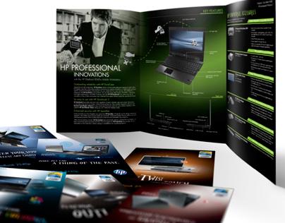 HP EliteBook Brochure Designs