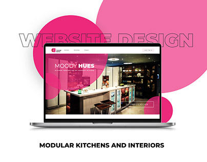 Concept Kitchen - UI Design | Modular Kitchens