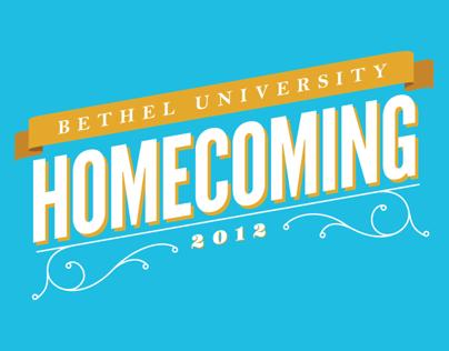 Bethel University Homecoming T-Shirt Design 2012