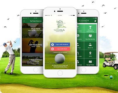 UI / UX Golf App