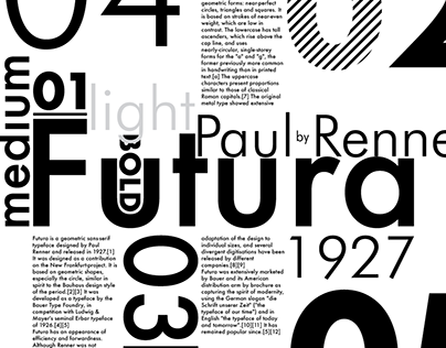 TYPEFACES WITH DEEP HISTORY