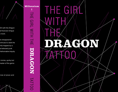 Book Cover Redesign for Millennium series