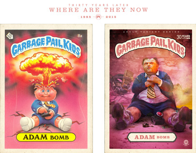 Garbage Pail Kids - Where are they now?