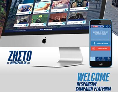 zisto intersport campaign microsite