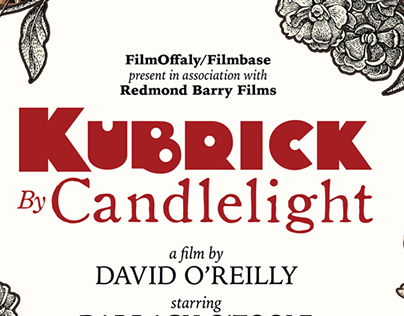 Kubrick by Candlelight - Film title design and poster
