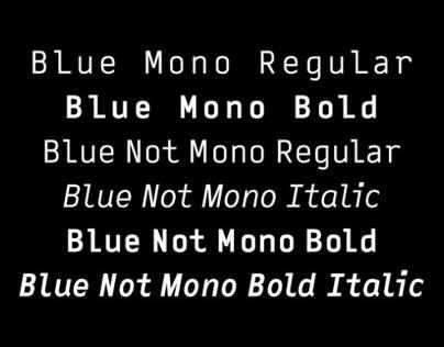 Blue (Not) Mono  – Volcano Type