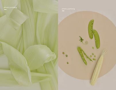 baby corn 褶皱之美