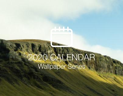 Desktop Calendar Series   2020