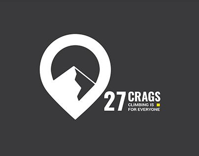 27 Crags Logo