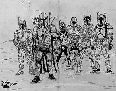 Seven Mandalorians