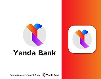 Yanda Bank Logo Design