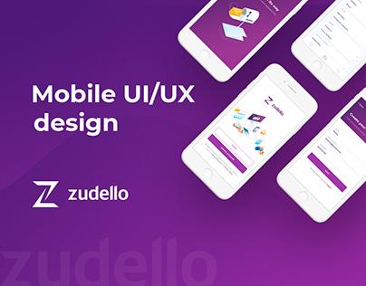 Mobile App Design - Zudello