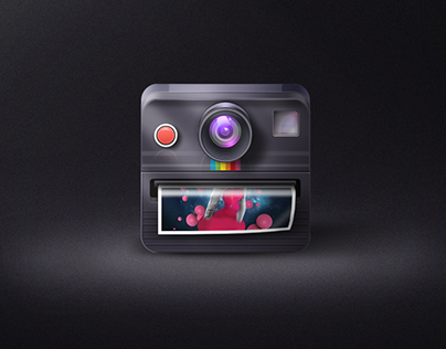 Polaroid Rainbow OneStep Camera