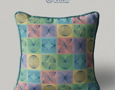 Pattern Series - DG índigo #09