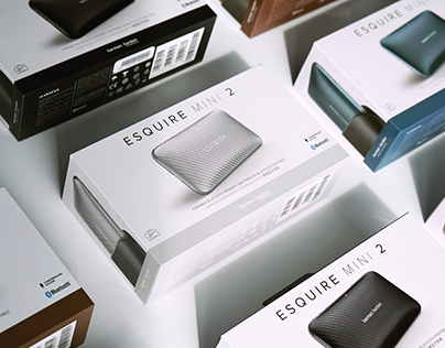 ESQUIRE MINI 2 Packaging Design for Harman/Kardon