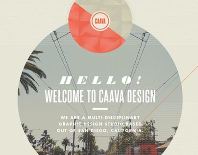 Caava Design Website Redesign and Brand Overhaul