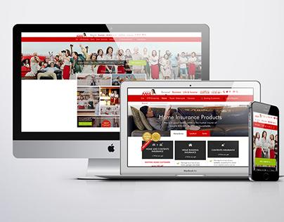 AAMI Website Redesign 2015