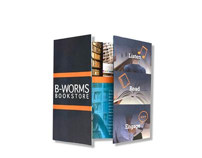 B-Worms Bookstore Brochure