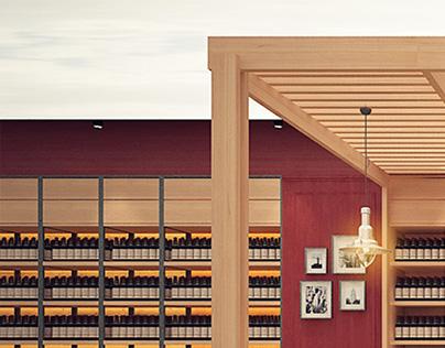 Wine & deli store