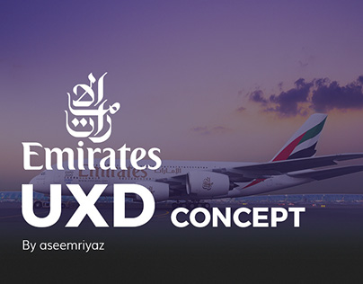 Emirates UXD Concept.