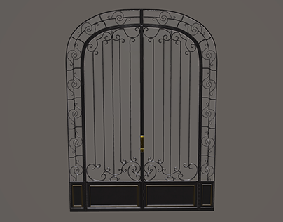 3D - Fancy door