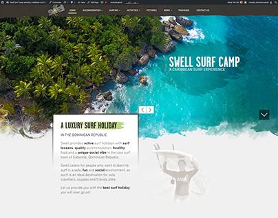 LUXURY SURF CAMP WEBSITE