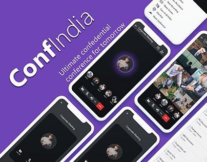 Video Conferencing App - ConfIndia