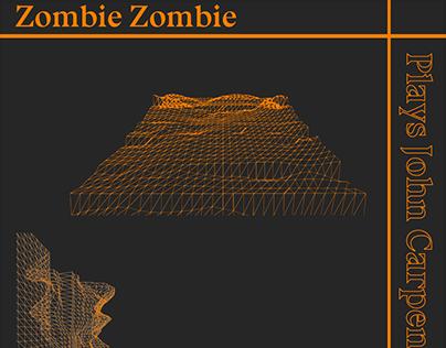 ZOMBIE ZOMBIE Plays John Carpenter - Concert Projection