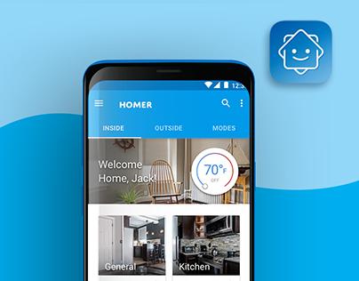 Homer Smart Phone App