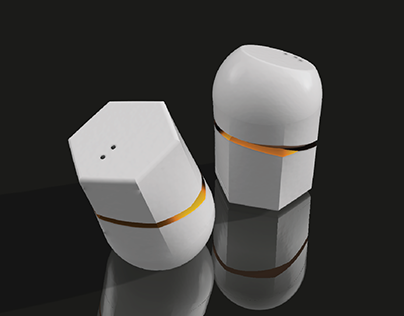 TWIN I Salt and Pepper Dispenser