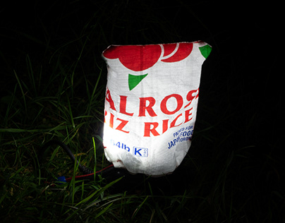 LES ORIGINAL lantern bag