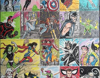 Marvel Sketch Cards (Upper Deck)