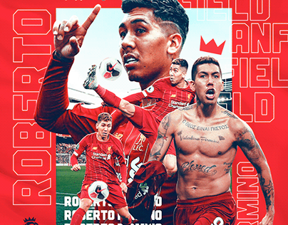 Roberto Firmino - Liverpool Match Day Poster