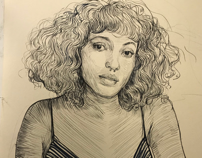 Marker drawing