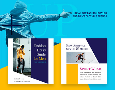 Free Social Media Template 2020 | Fashion Style for men