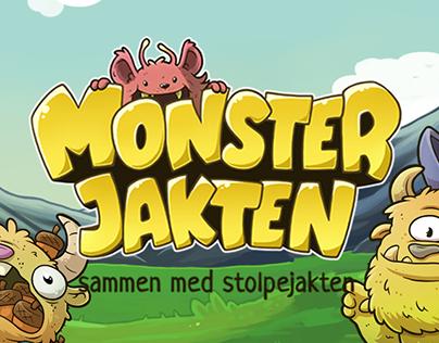 Mobile Game: Monsterjakten