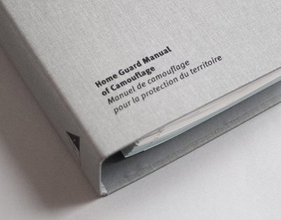 HOME GUARD MANUAL OF CAMOUFLAGE (ARTIST BOOK)