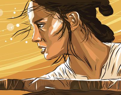 Rey - Star Wars 7