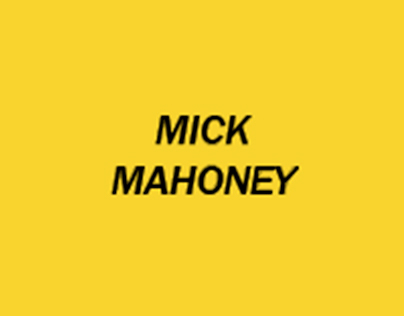 Work With Mick | Self Promotion