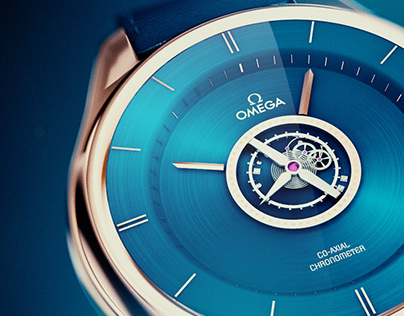 The De Ville Tourbillon Blue - OMEGA
