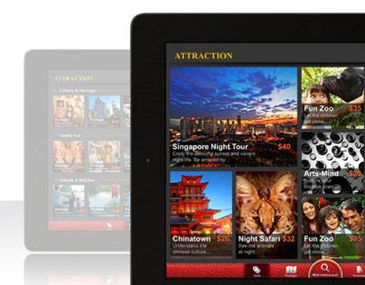 Attraction iPad App