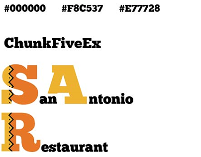 San Antonio Restaurant - Logo - from fakeclients.com